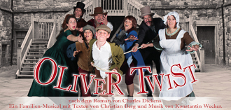 Musical-Theatergruppe: Oliver Twist